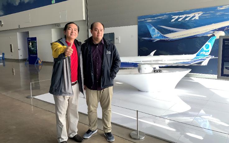 记波音777X翅膀领军设计者美籍华裔Victor Liu