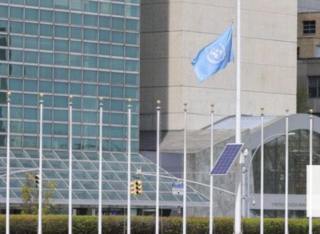 """多国青少儿向UN秘书长倡议""""全球下半旗悼念抗疫英雄"""""""