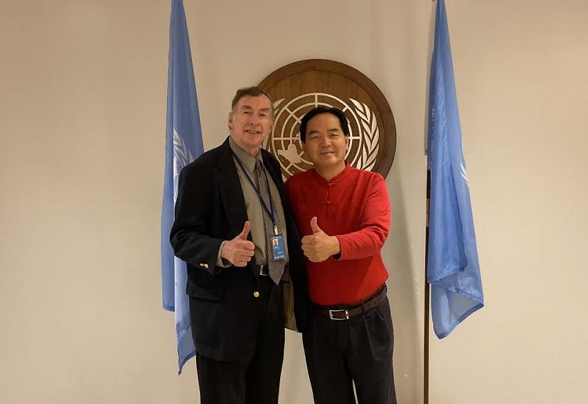 WHF基金会宪章日给联合国首脑的创新倡议公开信