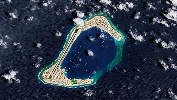 南海领土争议美国务卿蓬佩奥首次表态